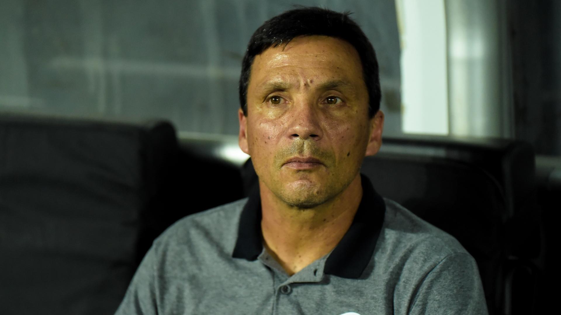 Zé Ricardo, técnico do Botafogo, em jogo contra o Bahia
