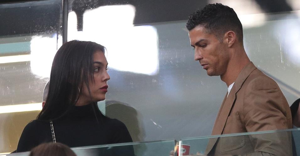 Cristiano Ronaldo cumpriu suspensão contra o Young Boys, da Suiça