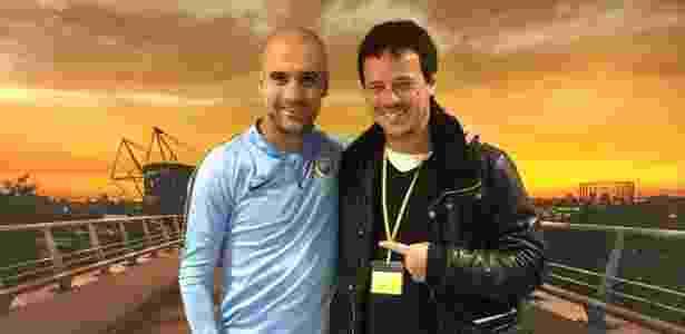 Diniz visitou Guardiola em viagem para aprimoramento profissional - Assessoria de imprensa
