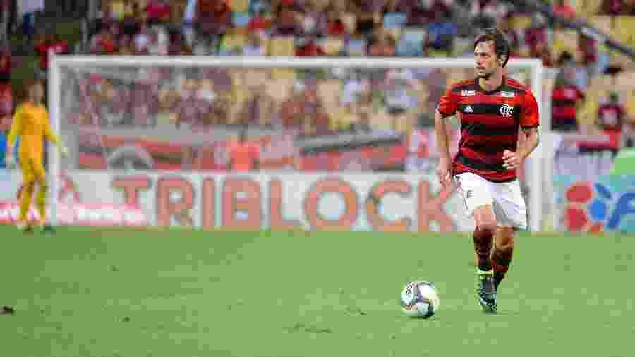 """""""Juan é um cara que eu sempre admirei muito"""", diz zagueiro - Alexandre Vidal / Flamengo"""