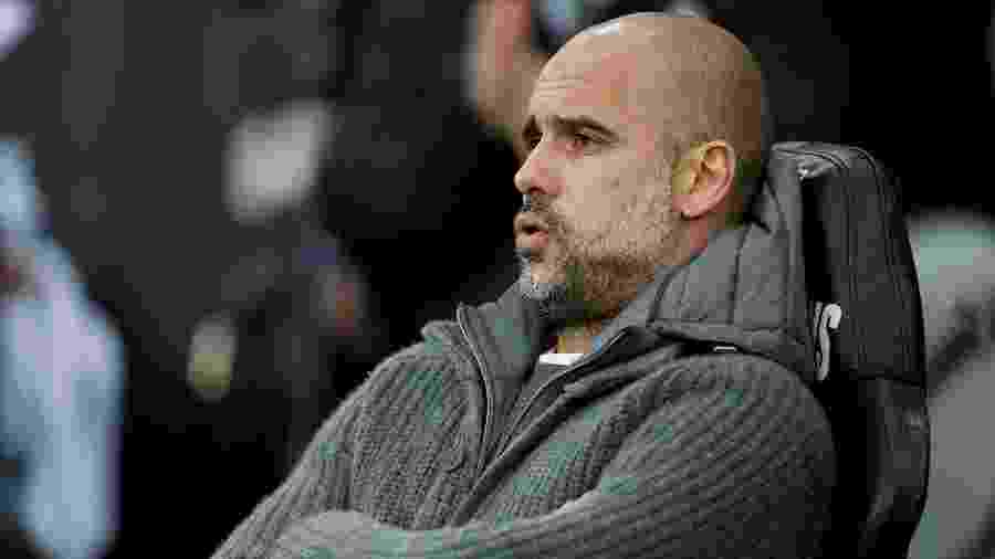 Pep Guardiola, técnico do Manchester City  - John Sibley/Reuters