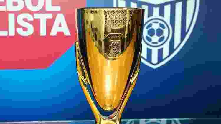 Taça do Campeonato Paulista - Divulgação/FPF - Divulgação/FPF