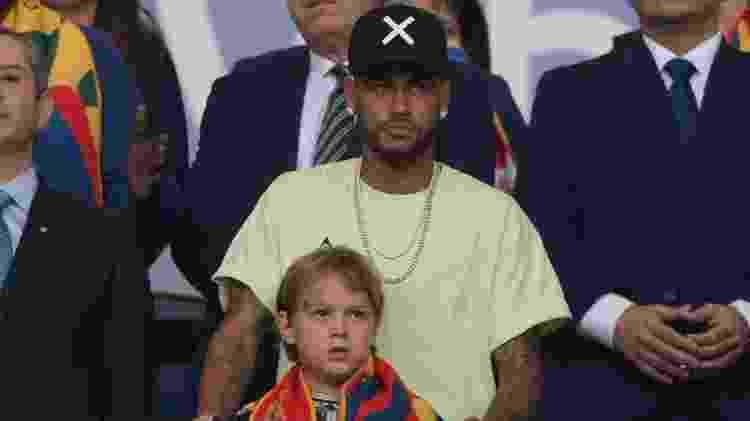 Neymar camarote - Juan MABROMATA / AFP - Juan MABROMATA / AFP