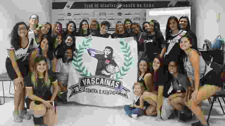 """Reunião do movimento """"Vascaínas Contra o Assédio"""", realizada em São Januário, com a vice-geral Sônia Andrade - Site oficial do Vasco - Site oficial do Vasco"""