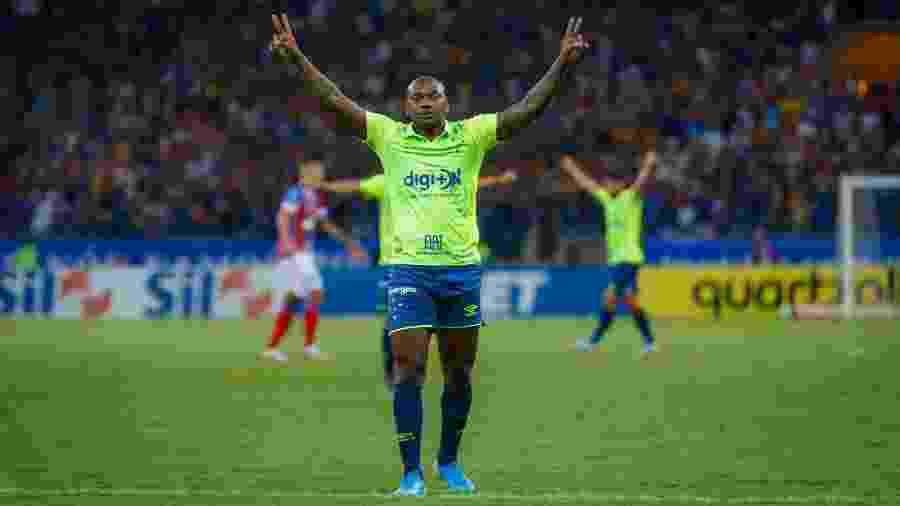 Atacante marcou gol de empate no último domingo e terá chance de começar como titular na Arena da Baixada - Vinnicius Silva/Cruzeiro