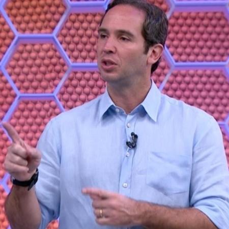 Caio Ribeiro durante o Globo Esporte - Reprodução/Globo