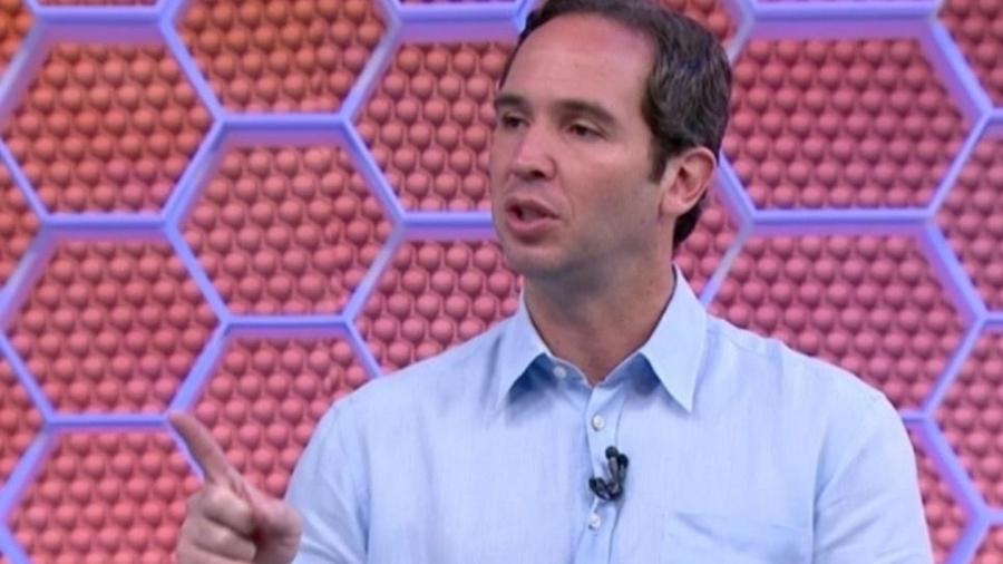 Caio Ribeiro, comentarista da TV Globo - Reprodução/Globo