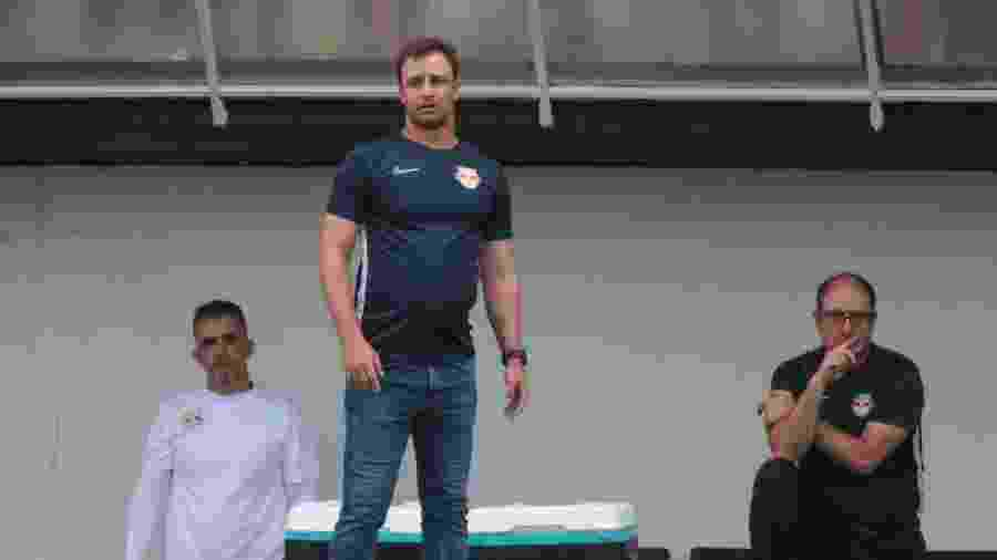 Felipe Conceição, técnico do Red Bull Bragantino, durante jogo contra o Palmeiras - Marcello Zambrana/AGIF