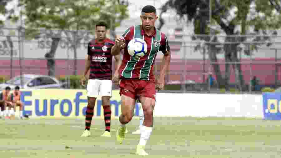 Joia de Xerém, André renovou contrato com o Fluminense até 2023 - Mailson Santana/Fluminense FC