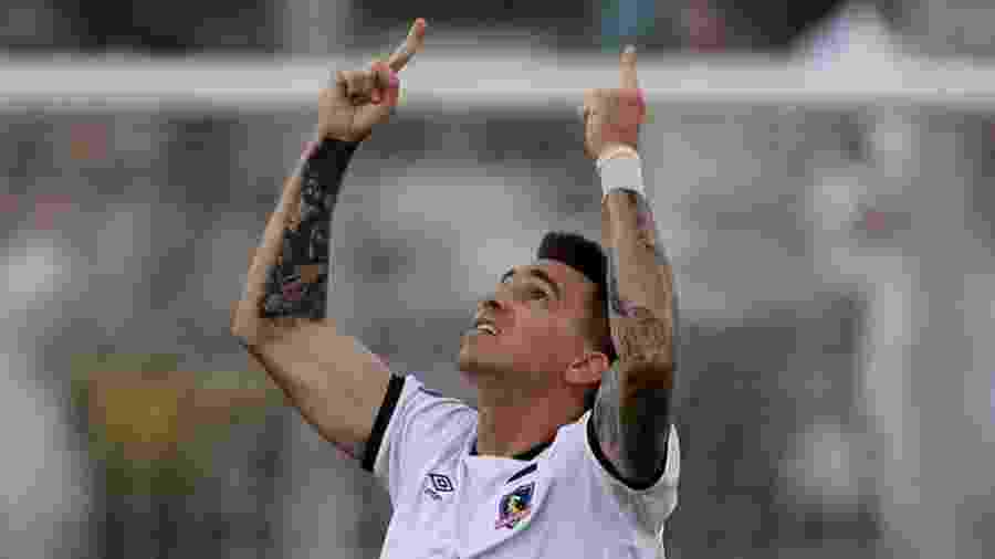 Mouche, autor do gol do Colo-Colo contra o Athletico Paranaense - REUTERS/Ivan Alvarado