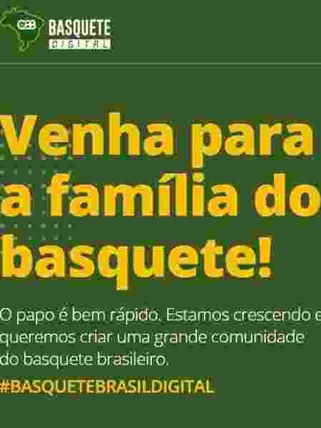 CBB - Divulgação