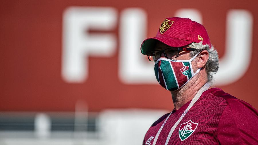 Odair Hellmann comanda o Fluminense no retorno ao Carioca em meio à pandemia de coronavírus - Lucas Mercon/Fluminense FC