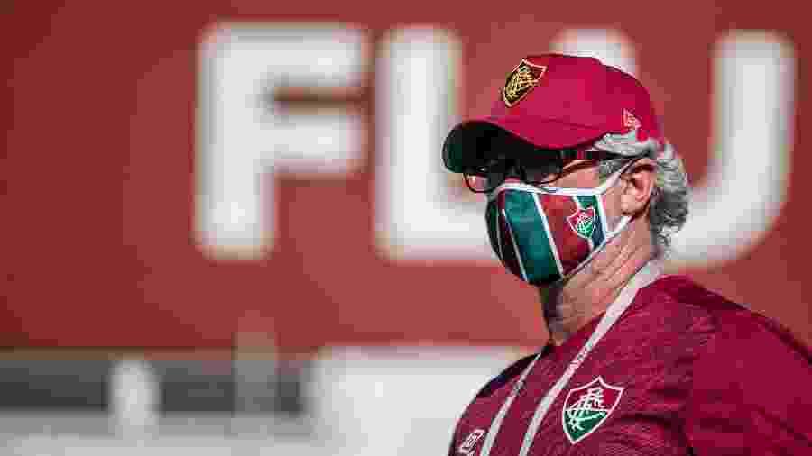 Odair Hellmann tem dificuldades para acertar o Fluminense em 2020 - Lucas Mercon/Fluminense FC