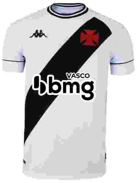 Camisa do Vasco com novo logo do BMG - Divulgação