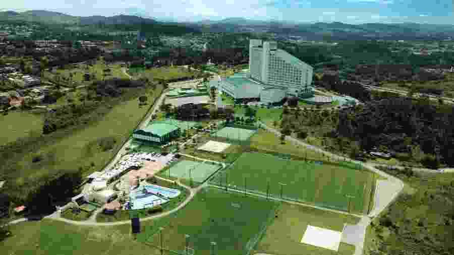 Cruzeiro foi para Atibaia em busca de paz, mas resultado em campo só aumentou o caos fora dele - Divulgação/Bourbon Hotel