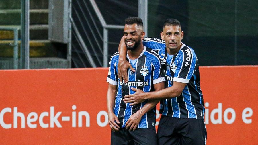 Maicon é remanescente do título de 2016 e Diego Souza foi reforço em 2020: duas gerações dentro do mesmo time - Fernando Alves/AGIF