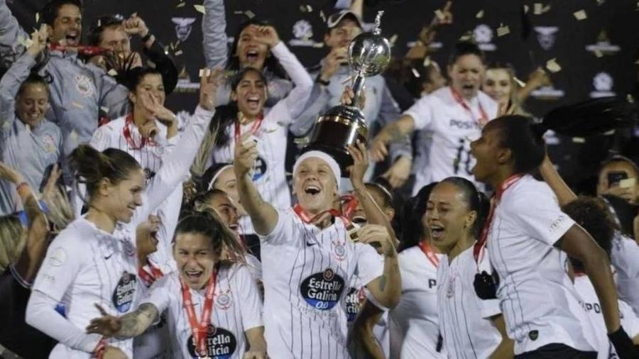 Corinthians é campeão da Libertadores Feminina 2019 - Divulgação/Corinthians