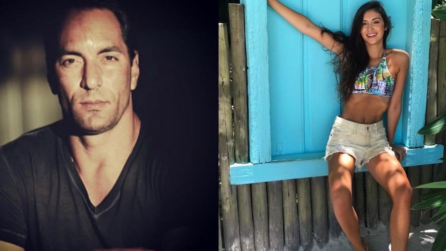 Edmundo e a suposta nova namorada, Elinne Zaníni - Reprodução/Instagram