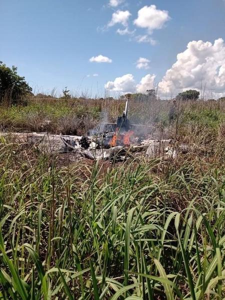 Acidente ocorreu em uma pista particular em Luzimangues (Tocantins) - Divulgação