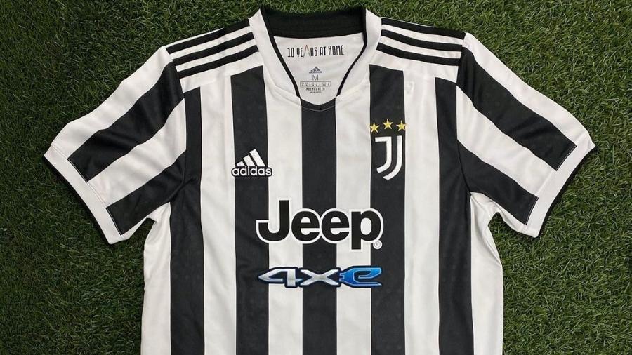 Suposto novo uniforme da Juventus para a temporada 2021-22 - Reprodução/Instagram