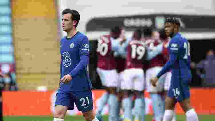 Chelsea perdeu para o Aston Villa, mas contou com a sorte ao ver o Leicester também ser derrotado - Nick Potts/Reuters - Nick Potts/Reuters