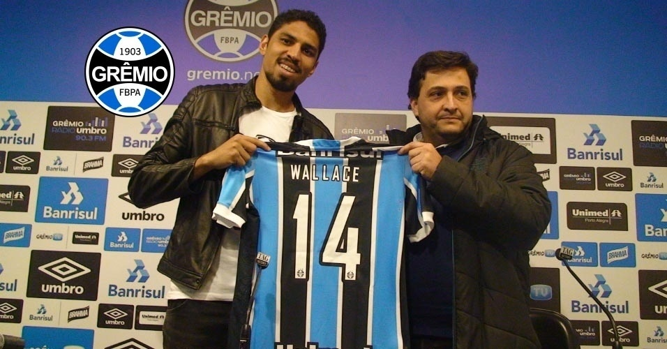 Wallace (zagueiro) - Do Flamengo para o Grêmio