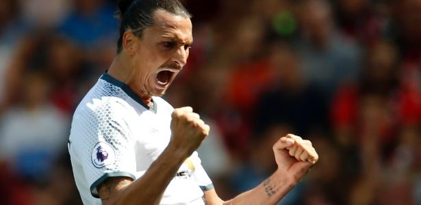Ibrahimovic já marcou quatro gol pelo Manchester United