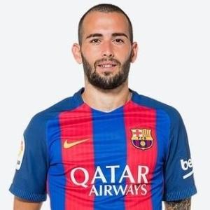 Aleix Vidal não está nos planos de Luis Enrique e deve sair no fim do ano - Divulgação/Site oficial do Barcelon