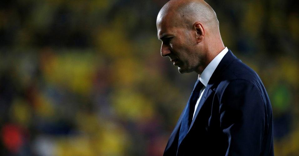 Zidane sai cabisbaixo após empate contra o Las Palmas
