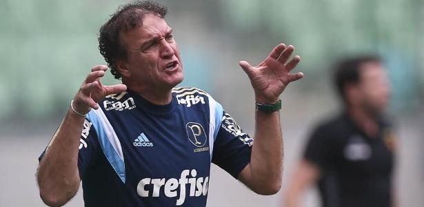 Cuca admitiu a atuação abaixo do esperado e vibrou com o resultado diante do Sport