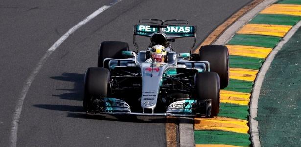 Hamilton foi superado por Vettel no GP da Austrália - REUTERS/Jason Reed