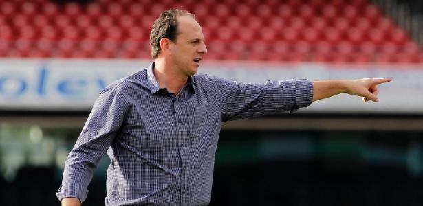 Rogério Ceni pode sofrer a sua primeira eliminação como técnico diante do Cruzeiro
