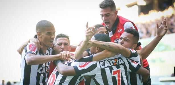 Atlético-MG divide o Brasileiro em metas. A primeira é se estabelecer na frente