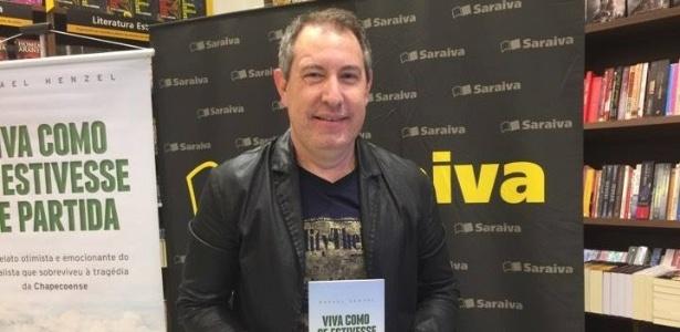 Rafael Henzel lança livro 'Viva como se Estivesse de Partida' em São Paulo