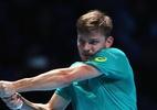 Goffin bate Federer, obtém a maior vitória da carreira e decide ATP Finals - Julian Finney/Getty Images