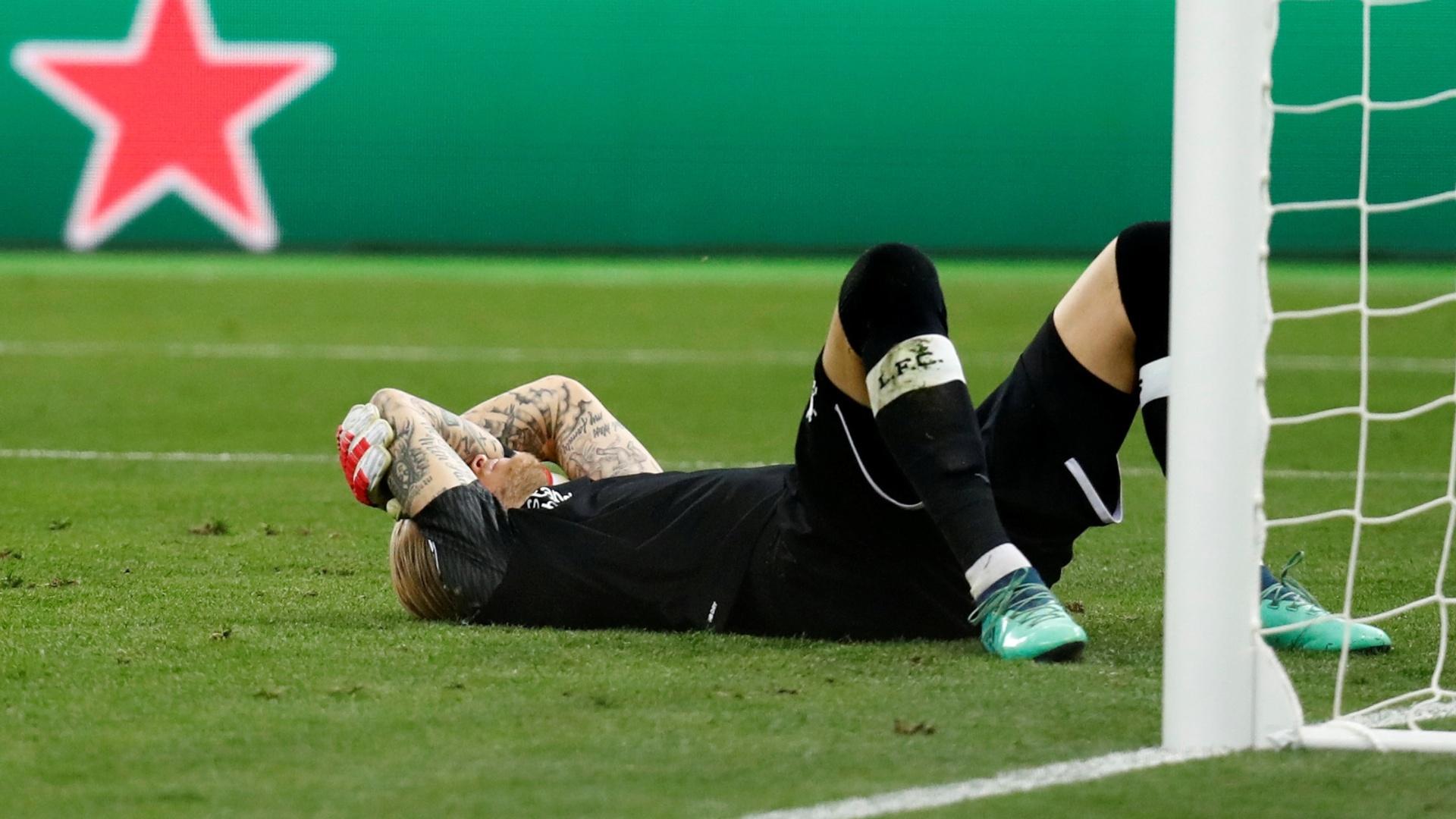Karius lamenta falha na final da Liga dos Campeões