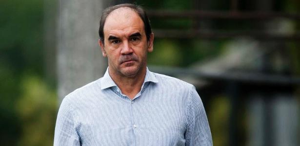 Ricardo Gomes concedeu coletiva na tarde desta segunda-feira - Ivan Storti/SantosFC
