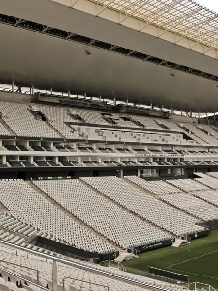 Arena Corinthians, estádio do time alvinegro - Divulgação/Arena Corinthians