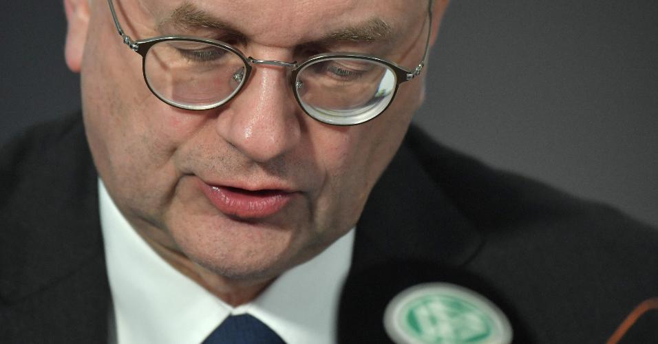 Reinhard Grindel presidente federação alemã de futebol