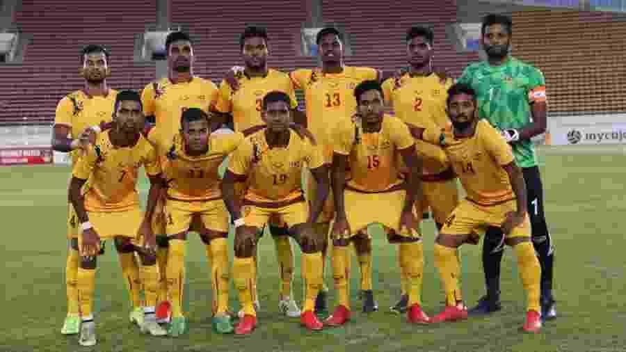 Macau não quer enfrentar seleção do Sri Lanka (foto) na casa adversária por temor a atentados - FFOSL/Divulgação