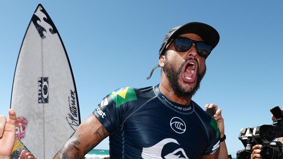 Ítalo Ferreira após vencer o Quiksilver Pro Gold Coast na Austrália - Chris Hyde/Getty Images