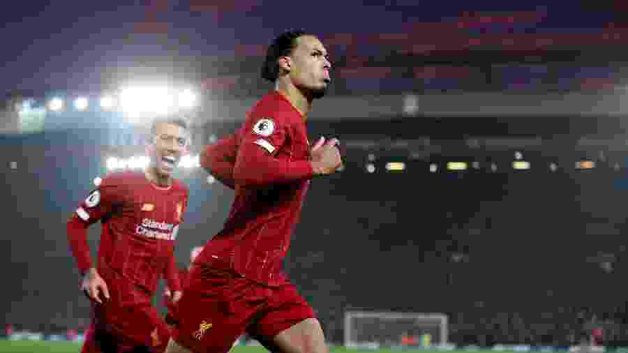 Virgil van Dijk poderia ter jogado no Manchester City e não no Liverpool - Reuters/Carl Recine