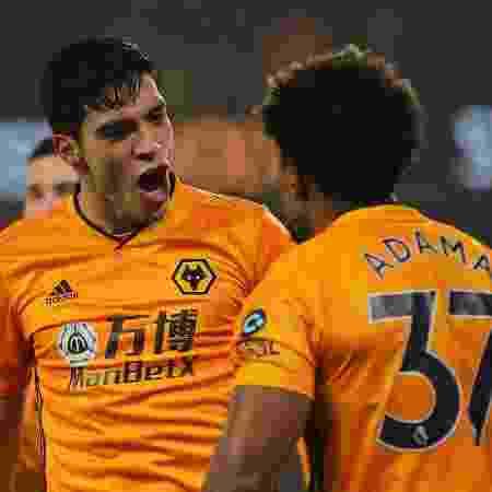 Raul Jimenez, atacante do Wolverhampton - Matthew Ashton - AMA/Getty Images