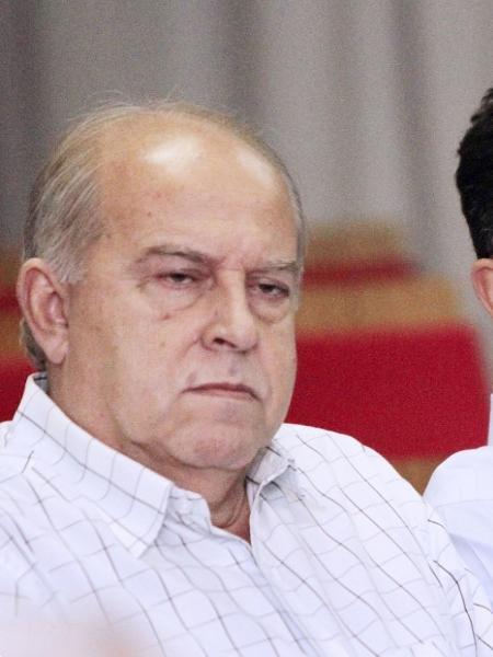 Elias Duba, Presidente do Madureira, em evento na Ferj, em 2014 - Foto: Úrsula Nery / Ferj
