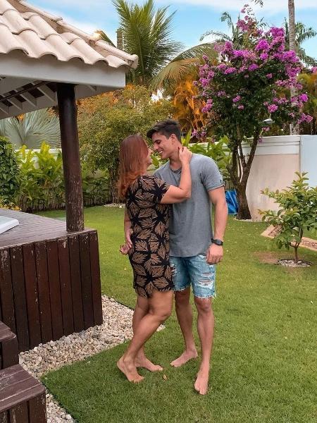 Nadine Gonçalves, mãe de Neymar, assume namoro com Tiago Ramos - Reprodução/Instagram