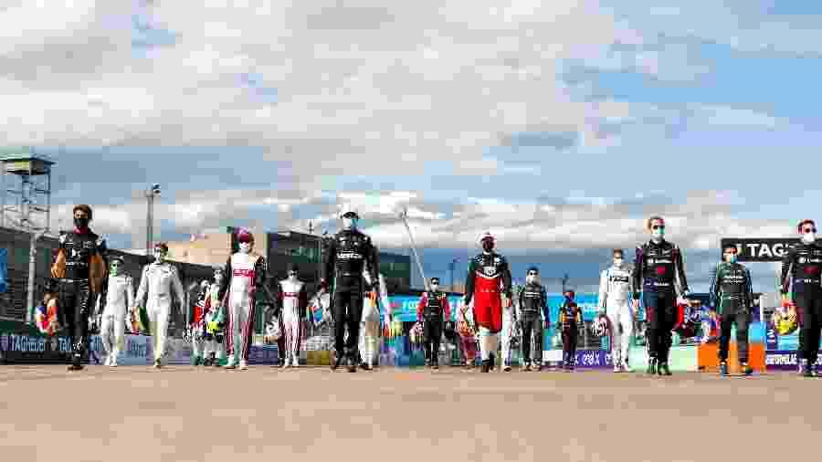 Pilotos da Fórmula E se preparam para maratona de 6 provas em nove dias - Formula E/Divulgação