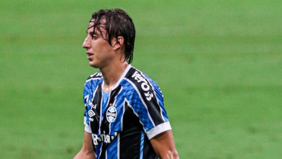 Pedro Geromel deve ficar fora da final da Copa do Brasil por conta de lesão - Fernando Alves/AGIF