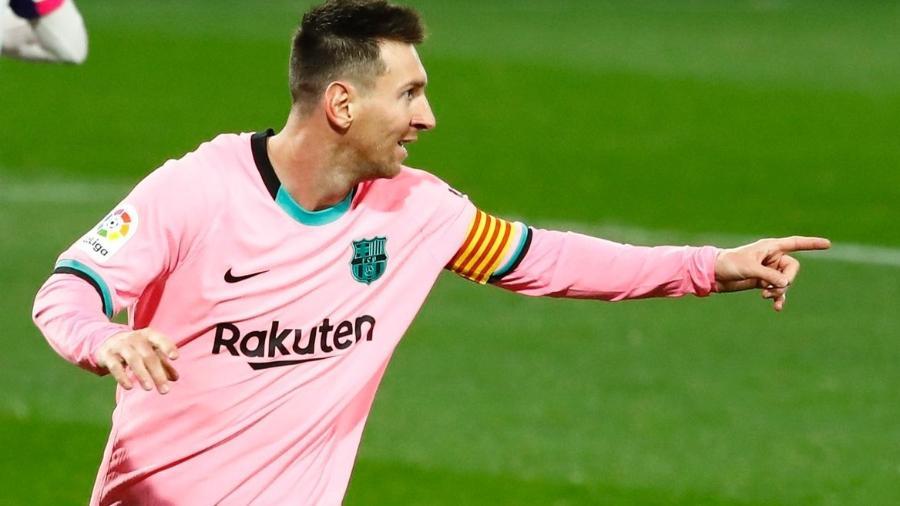 Lionel Messi tem contrato com o Barcelona até junho deste ano - Juan Medina/Reuters