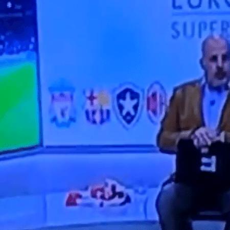 Gafe da televisão portuguesa coloca Botafogo na Superliga - Reprodução