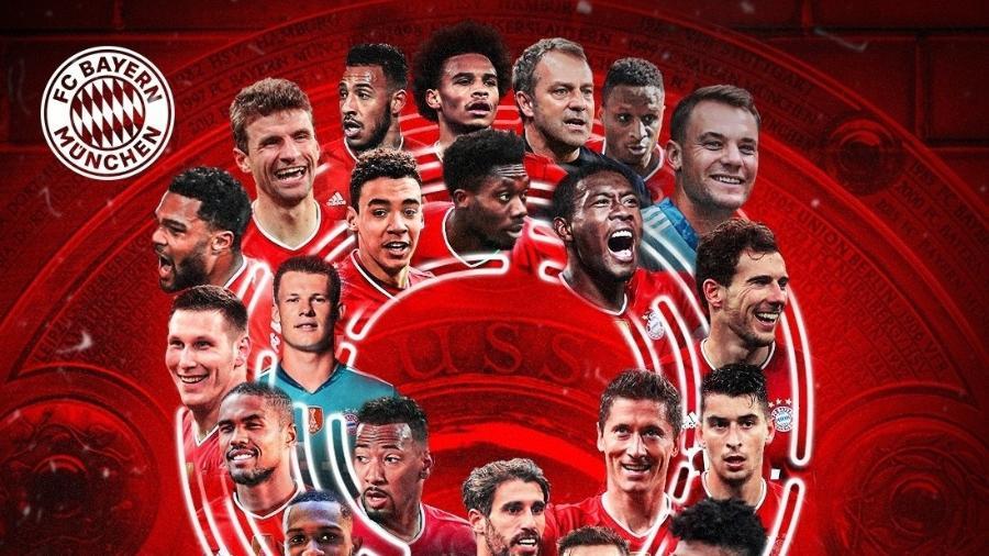 Bayern de Munique comemora o 9º título seguido do Campeonato Alemão - Reprodução